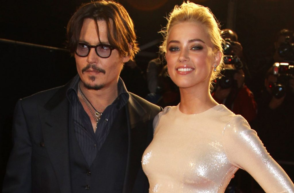 Johnny Depp. Amber Heard