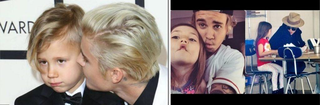 Justin Bieber Family