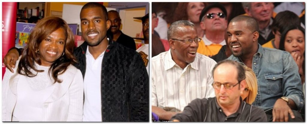 Kanye West Parents
