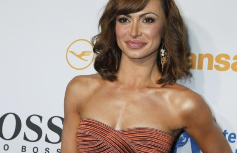 'Karina Smirnoff' Dance Lesson - YouTube