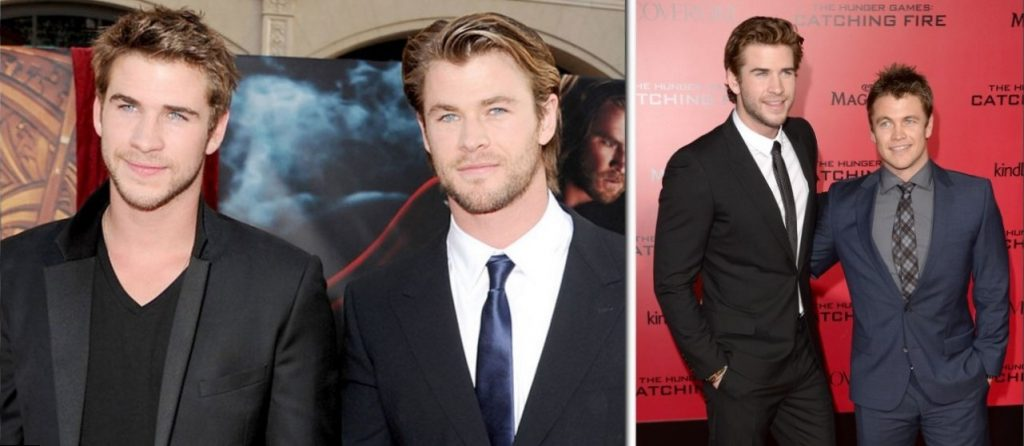 Liam Hemsworth  Siblings