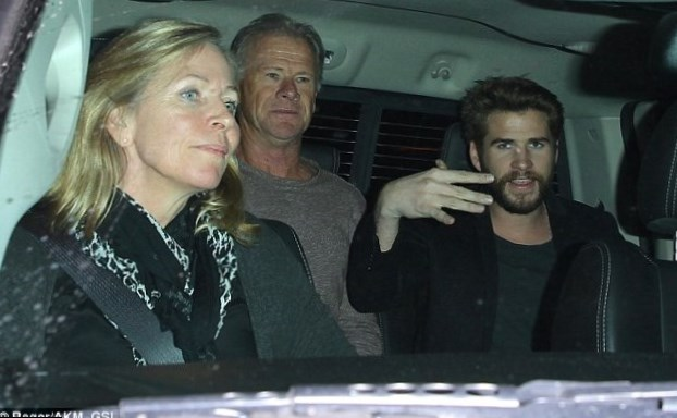 Liam Hemsworth  Parents