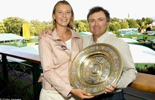 Maria Sharapova Parents