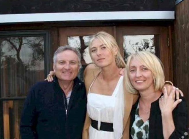 Image result for sharapova parents