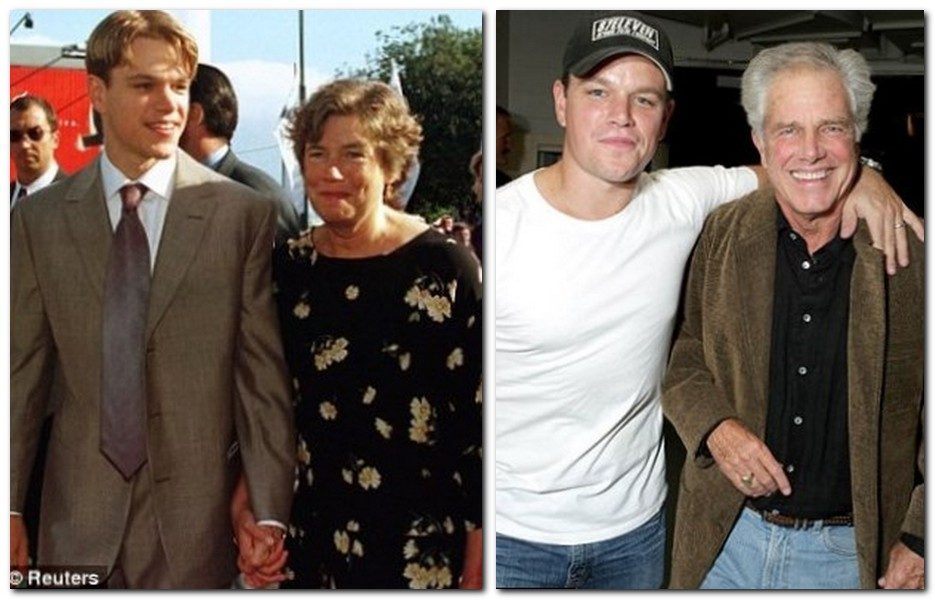 Matt Damon Parents