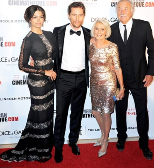 Matthew McConaughey Parents