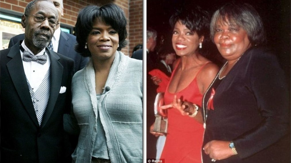 Oprah Winfrey parents