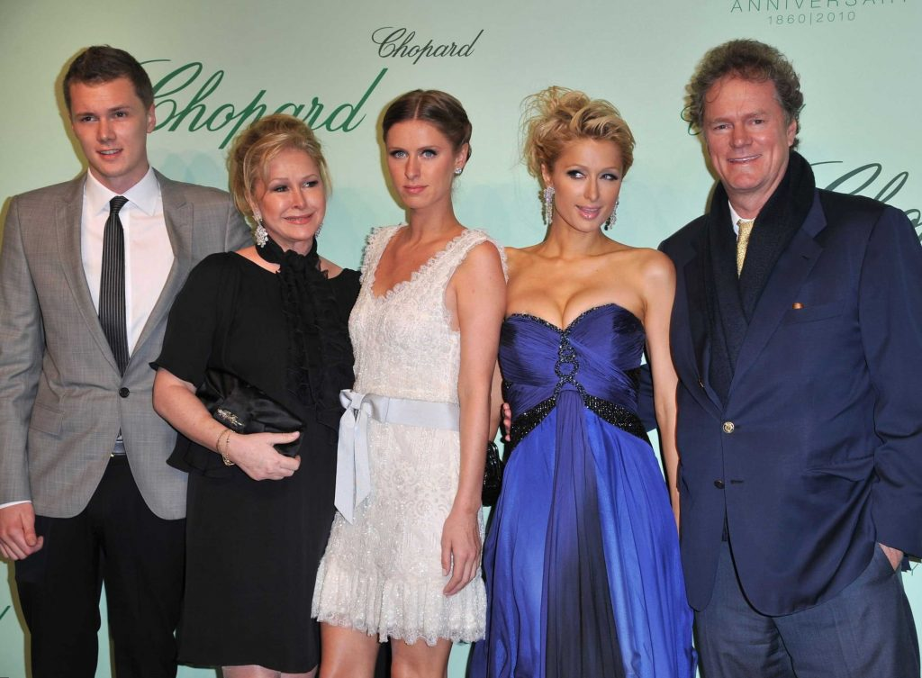 Paris Hilton Family