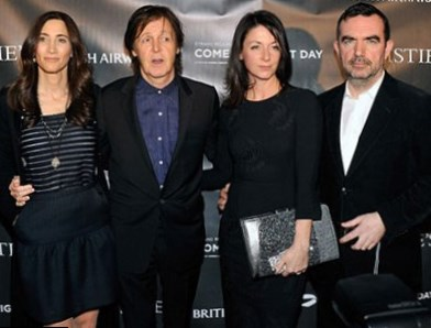 Paul McCartney Family