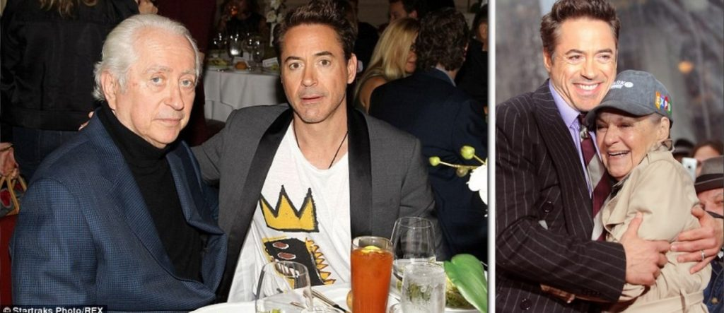 Robert Downey Parents
