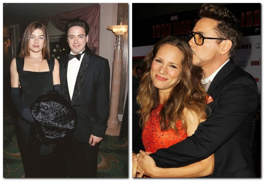Robert Downey Jr Family