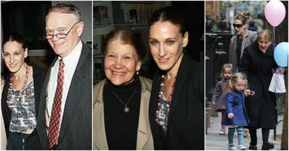 Sarah Jessica Parker`s parents - Paul Forste and Barbara Forste