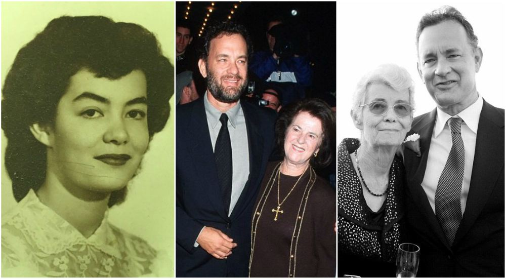 Tom Hanks` mother - Janet Marylyn Frager