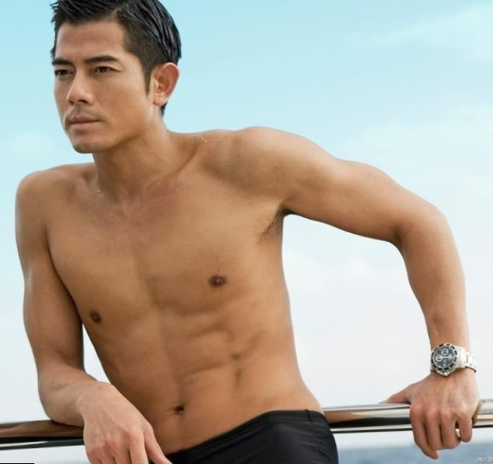Aaron Kwok Weight