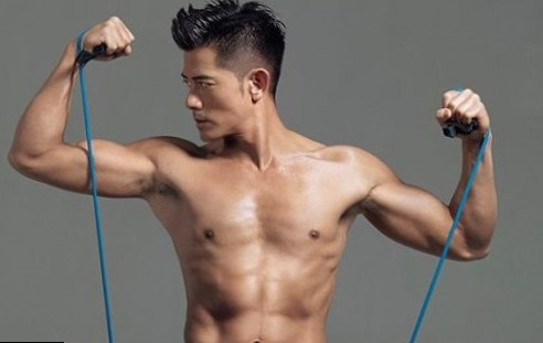 Aaron Kwok Body Measurement