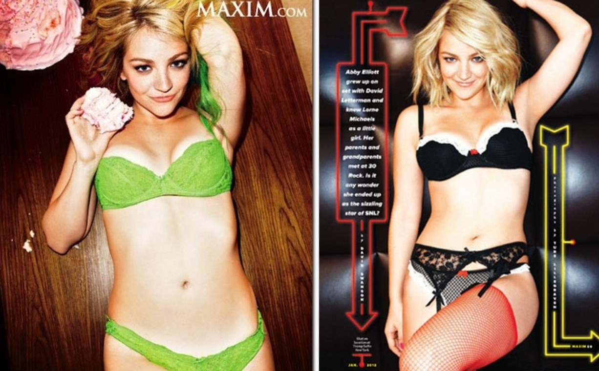 Abby Elliott Weight
