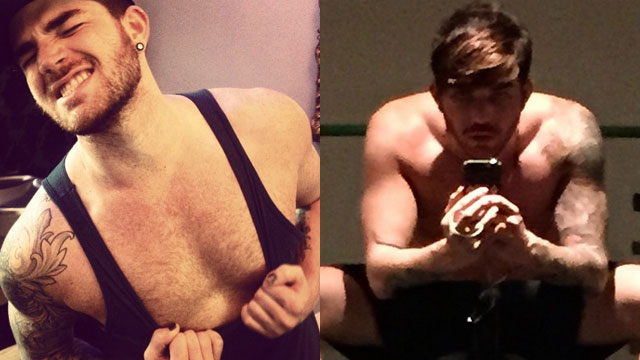 Adam Lambert Weight