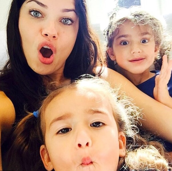 Adriana Lima Children