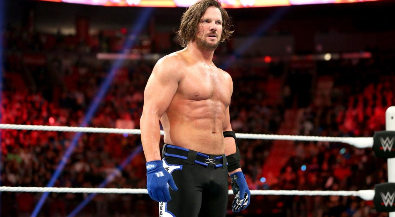 AJ Styles Weight
