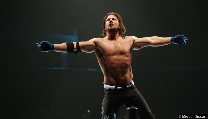 AJ Styles Body Measurement