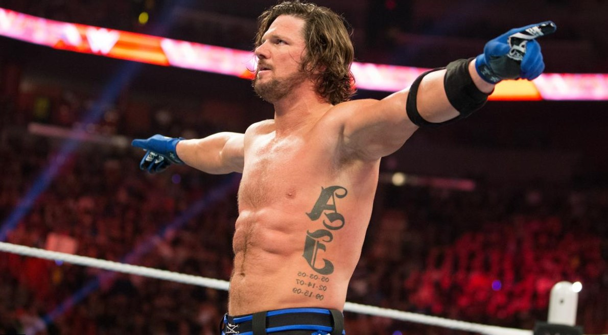 AJ Styles height, weight, age. Body measurements.