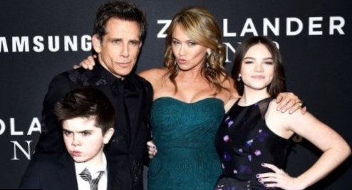 Ben Stiller Children