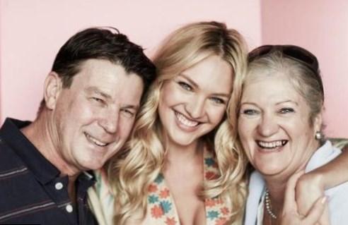 Candice Swanepoel Family