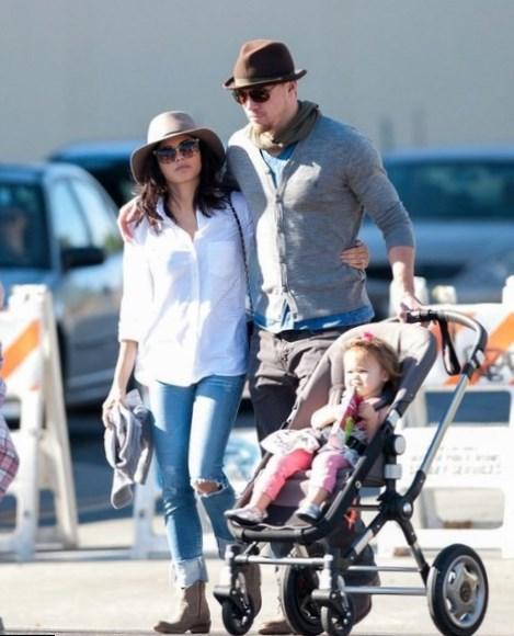 Channing Tatum Family