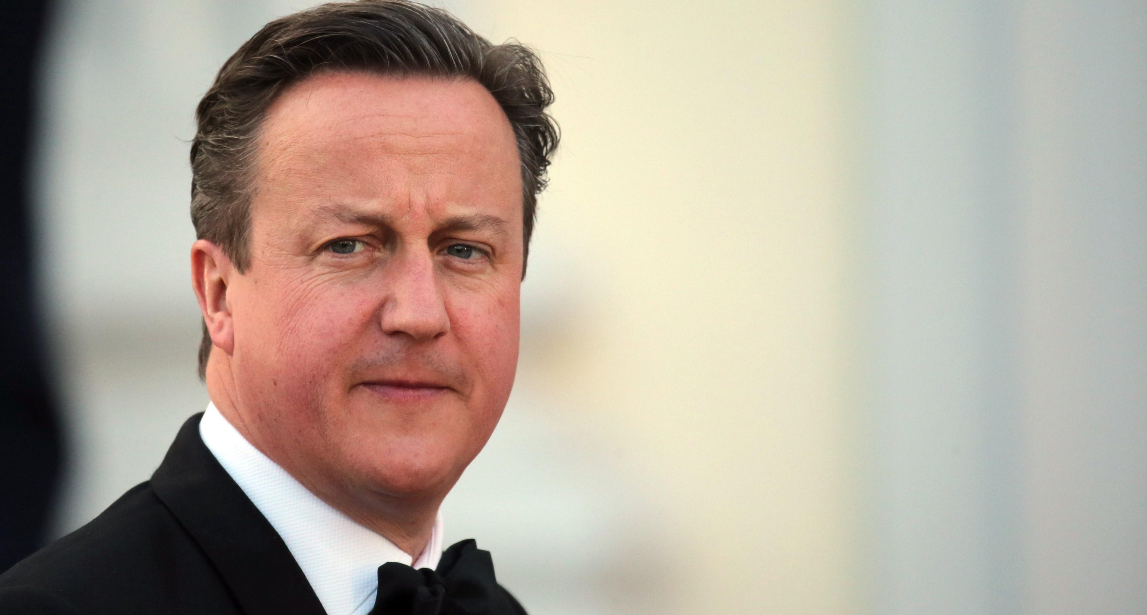 David Cameron weight, ...
