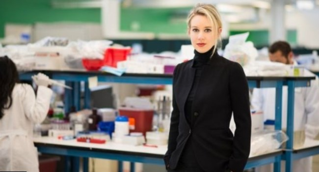 Elizabeth Holmes Body Measurement