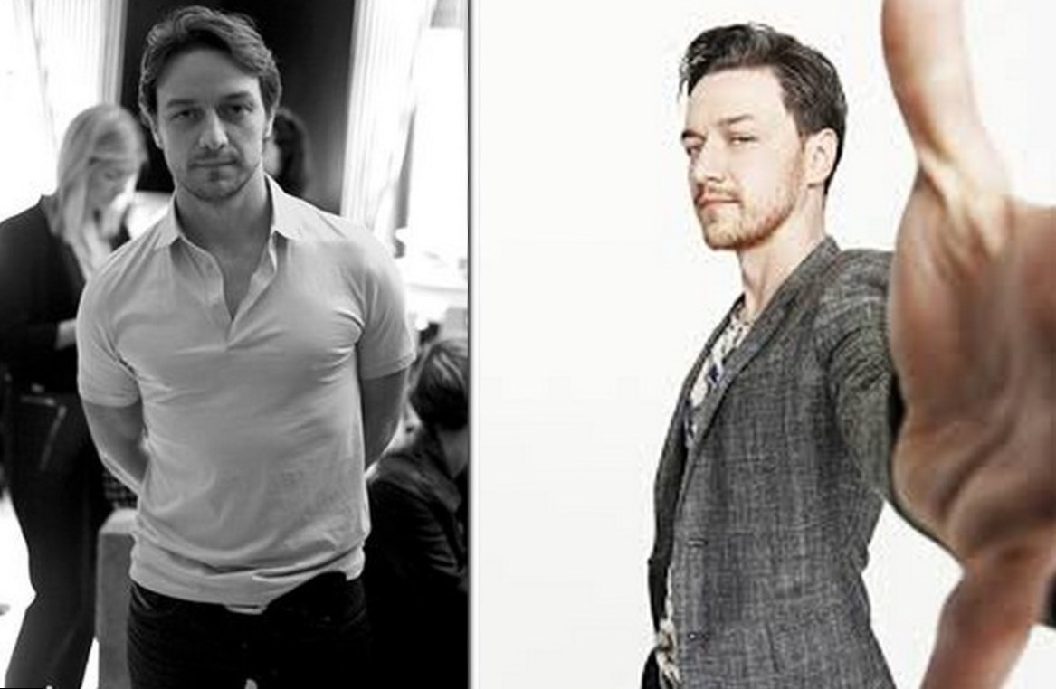 James McAvoy Body Measurement