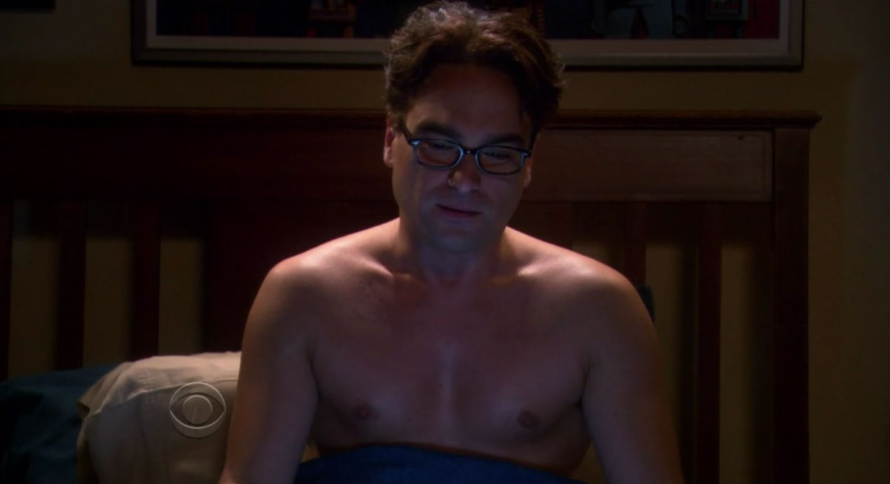 John Galecki Weight
