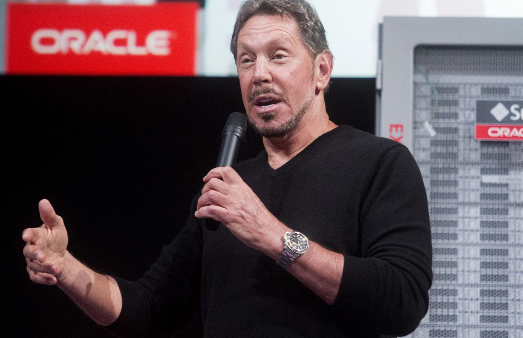 Larry Ellison Height