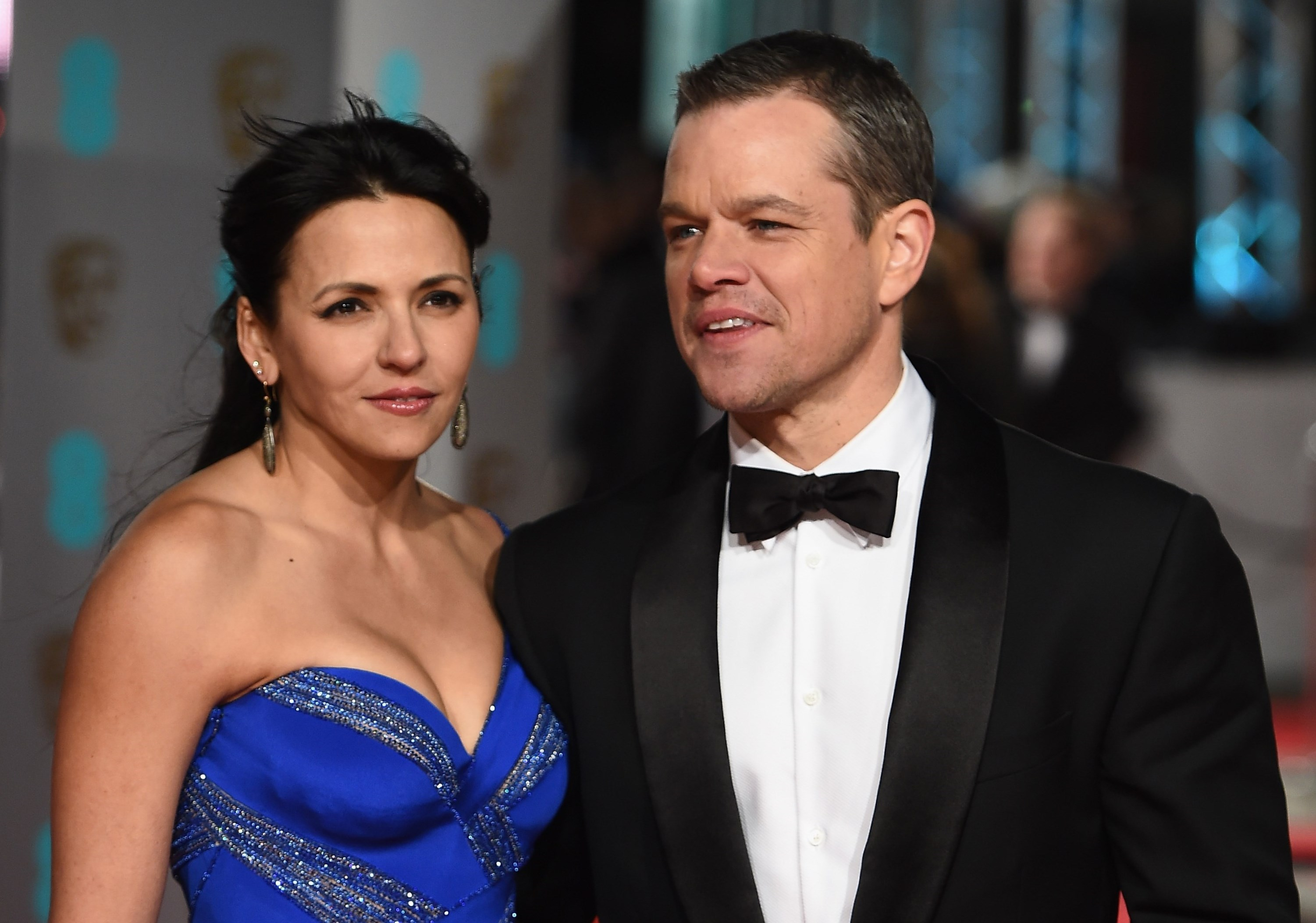 Matt Damon family: sib...