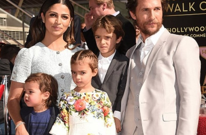 Matthew Mcconaughey Family Siblings Parents Children Wife