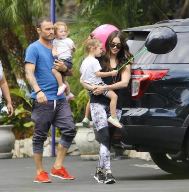 Megan Fox Family