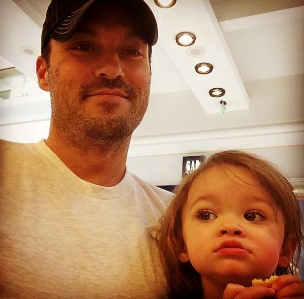 Megan Fox's family - husband Brian Austin Green and son Noah Green