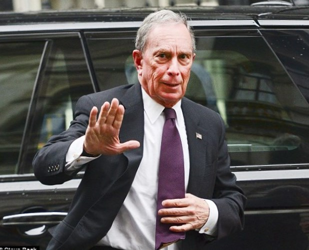 Michael Bloomberg Weight