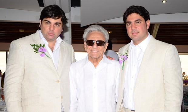 Shakira`s siblings - half-brothers Antonio Mebarak and Moises Mebarak