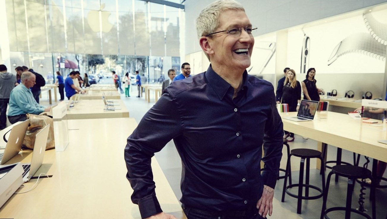 Tim Cook Height
