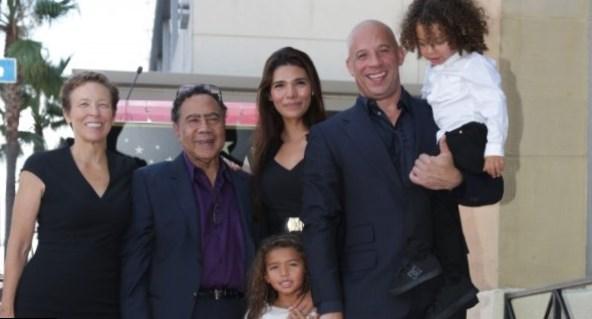 Vin Diesel family  sib...
