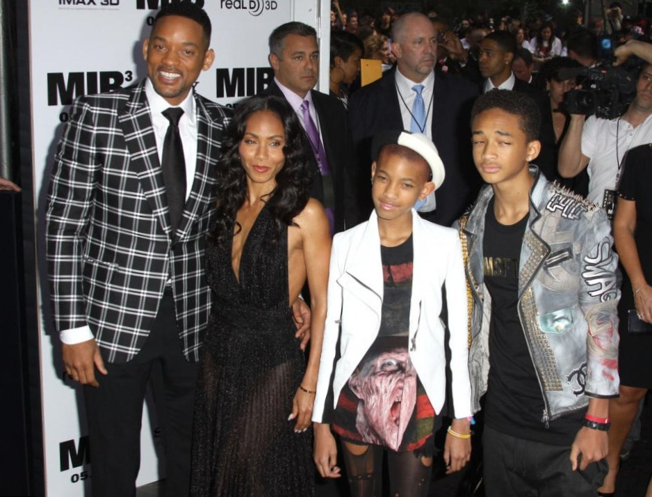 Will Smith Family
