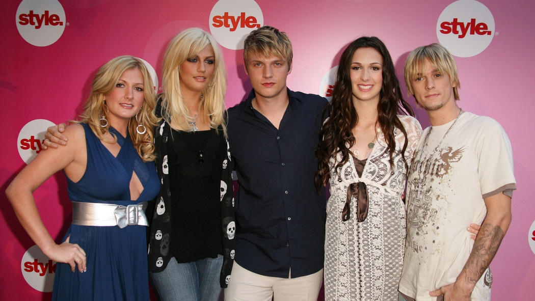 Bobbie Jean Carter, Nick Carter, Leslie Carter, Angel Carter, and Aaron Carter