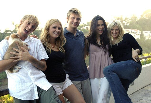 Aaron Carter Siblings
