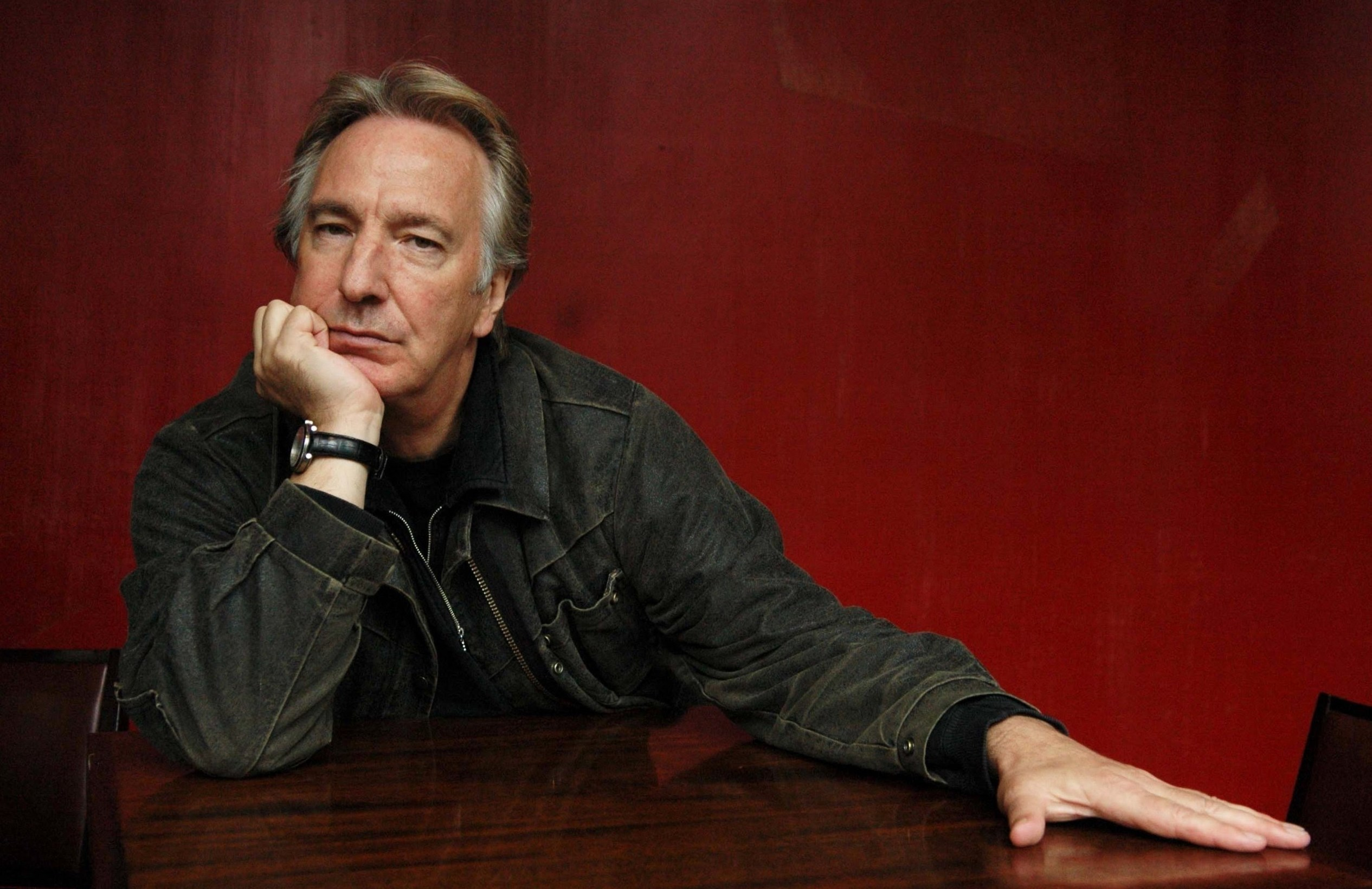 alan rickman weight height and age body measurements
