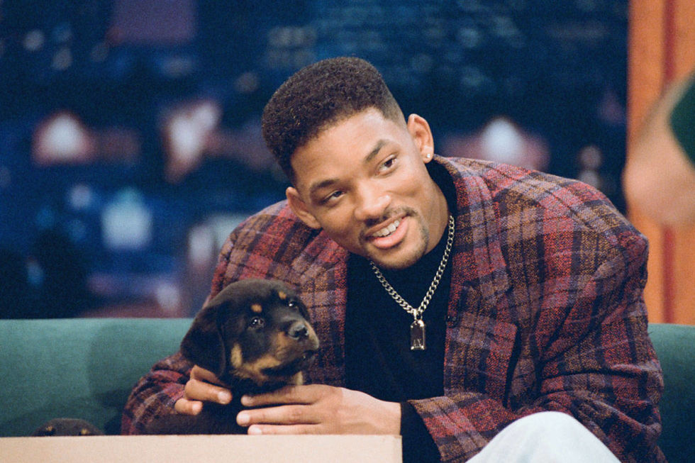 Will Smith dogs.