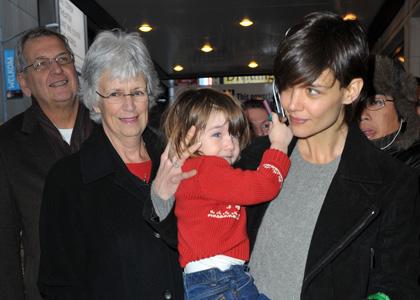 Katie Holmes Family