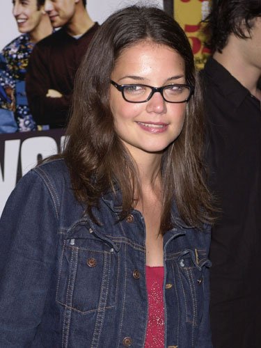 Katie Holmes hair style in 2000