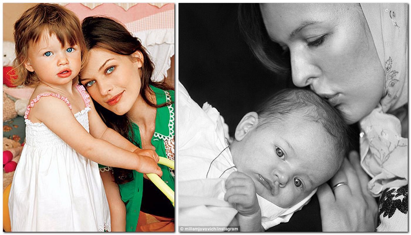 Milla Jovovich Family