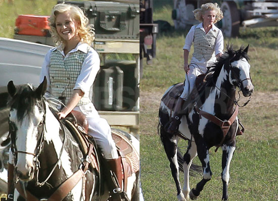 Reese Witherspoon`s Horse